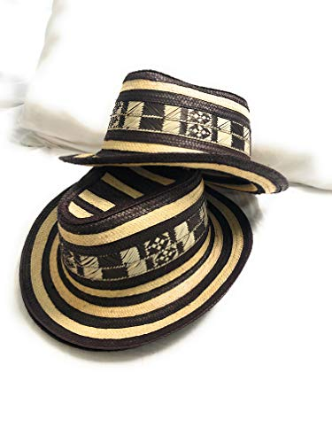 Colombian Hat Sombrero Sinuano Made by Colombian Artisans Celedon Style Beige
