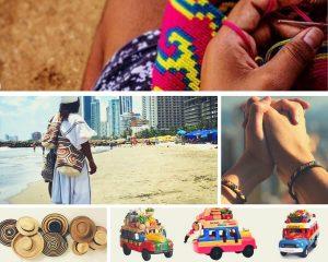 artículos artesanales de Colombia