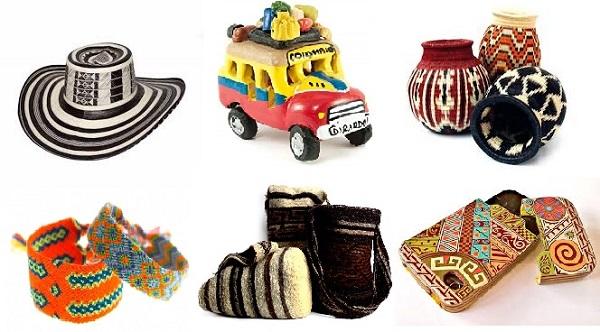 Tipos de artesanías colombianas