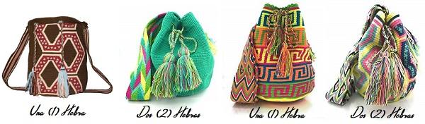 Diferencias entre Mochila Wayu de 1 una Y 2  dos Hebras.