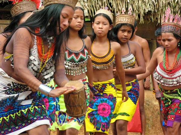 Mujeres de la Comunidad Emberá-Wounaan