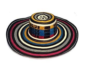 Sombrero de Colombia tricolor