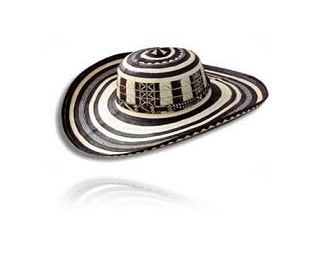 Sombrero volteao colombiano