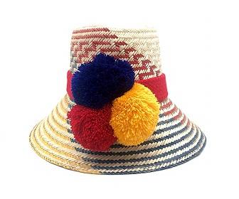 Sombrero Wayuu Hecho a mano