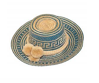 Sombrero Wayuu de Fabricado a mano en Colombia
