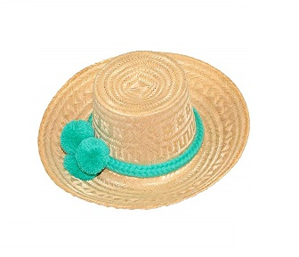 Sombreros Wayuu en palma de iraka