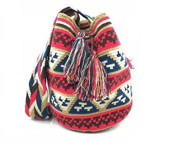 Mochilas Wayuu importadas de Colombia