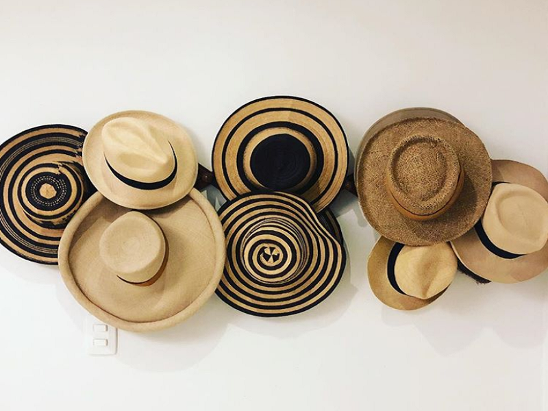 nombre de sombrero colombiano