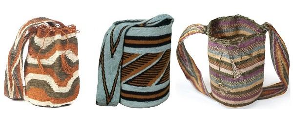 Colores de las Mochilas Arhuacas