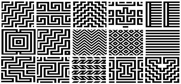 Símbolos de las Mochilas Arhuacas